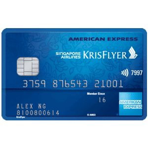 AMEX Singapore Airlines KrisFlyer Credit Card