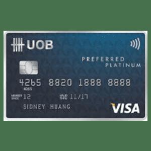UOB Preferred Platinum Visa Card