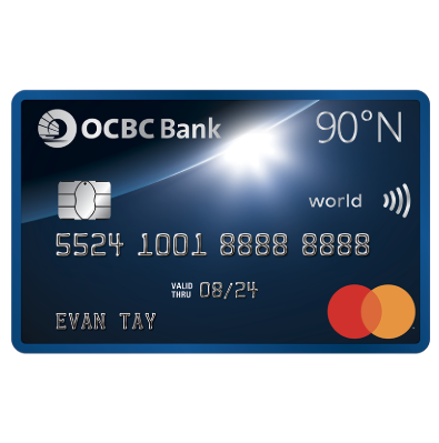 OCBC 90 Degrees N Credit Card