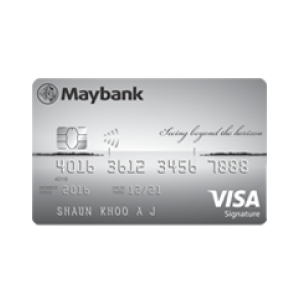 Maybank Horizon Visa Signature