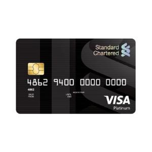 Standard Chartered Platinum Visa MasterCard Credit Card