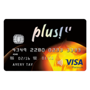 OCBC Plus! Visa Card