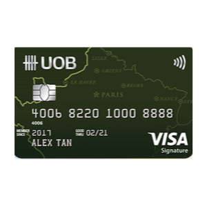 UOB Visa Signature Card