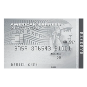 AMEX Platinum Reserve Credit Card
