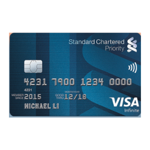 Standard Chartered Priority Visa Infinite Credit Card