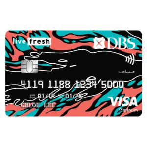 DBS Live Fresh Visa Student Card