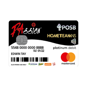 POSB HomeTeamNS-PAssion-POSB Debit Card