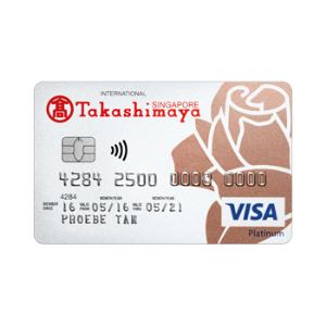DBS Takashimaya Debit Card