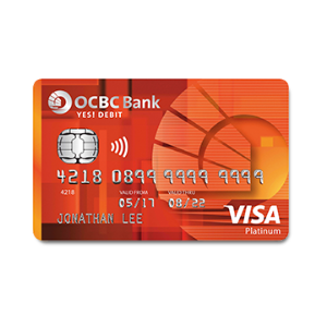 OCBC YES! Debit Card