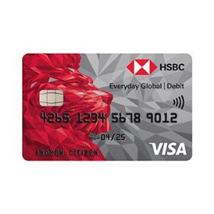 HSBC Everyday Global Debit Card