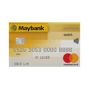Maybank Platinum Debit Card